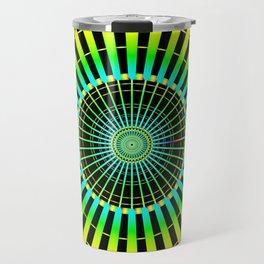 Rainbow Spokes Travel Mug