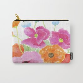 Summer Poppies Carry-All Pouch