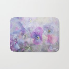 little pansies Bath Mat