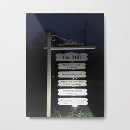 Maplewood - The Mill - Night Metal Print