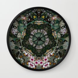 Multifacetted Kaleidoscope 5 Wall Clock