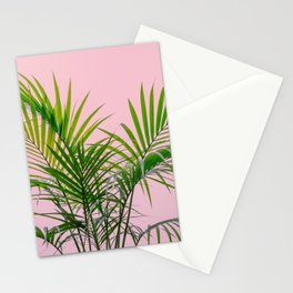 Little palm tree in pink Stationery Cards