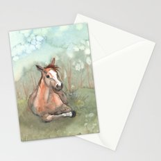 Resting Pony Stationery Cards