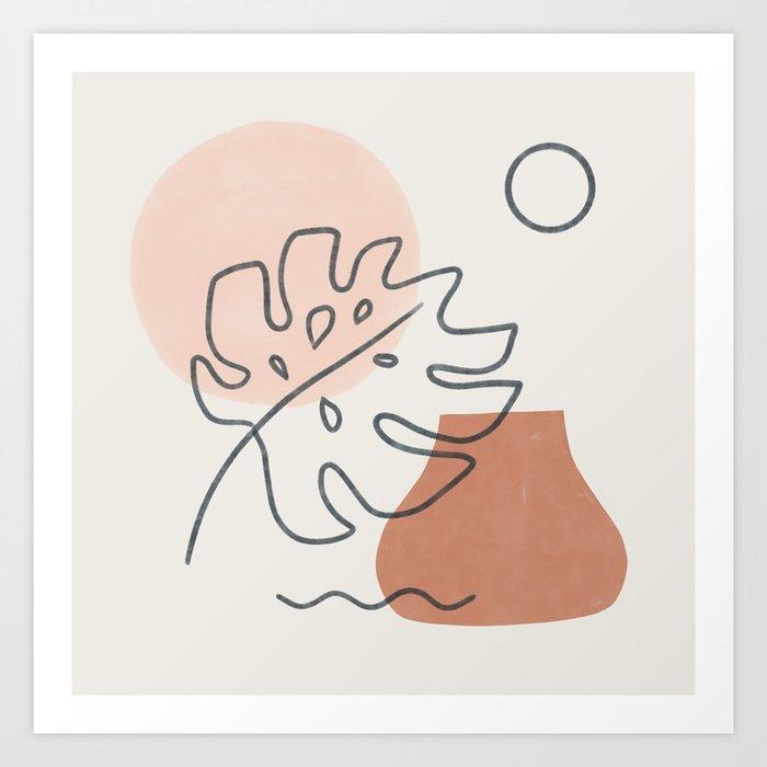 a warm feeling Art Print