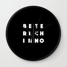Berlin Techno Wall Clock