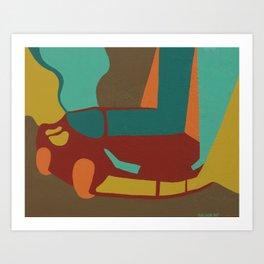 Supercar_002 Art Print