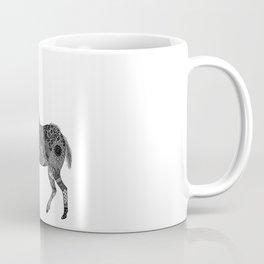 Henna-Inspired Kudu  Coffee Mug