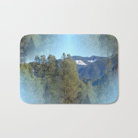 In the mountains... Bath Mat