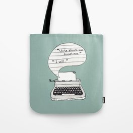 PERKS OF BEING A WALLFLOWER. Tote Bag