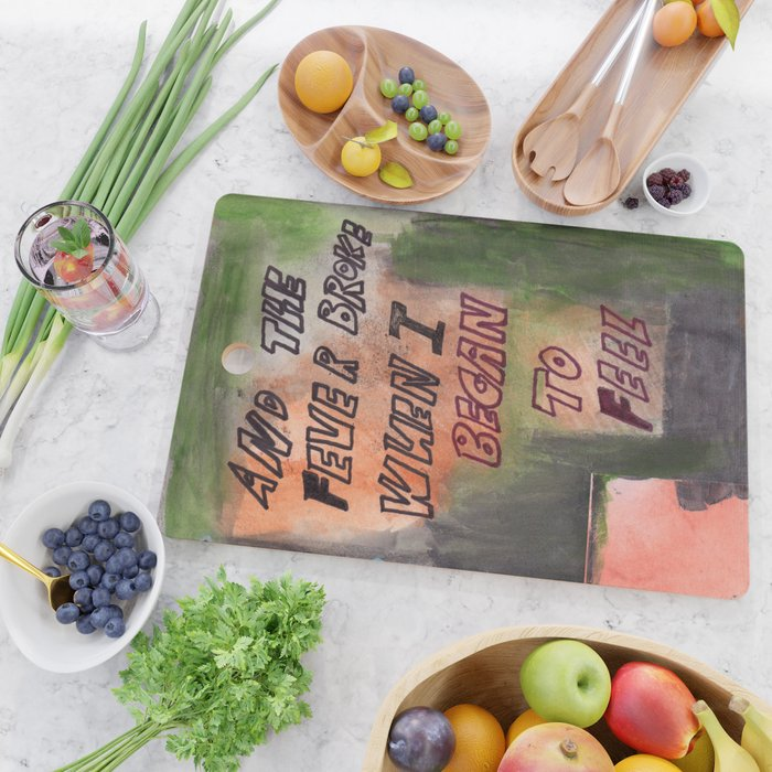 Fever Cutting Board