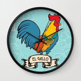 El Gallo Wall Clock
