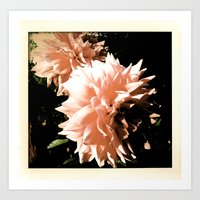 Spike Blossom Art Print