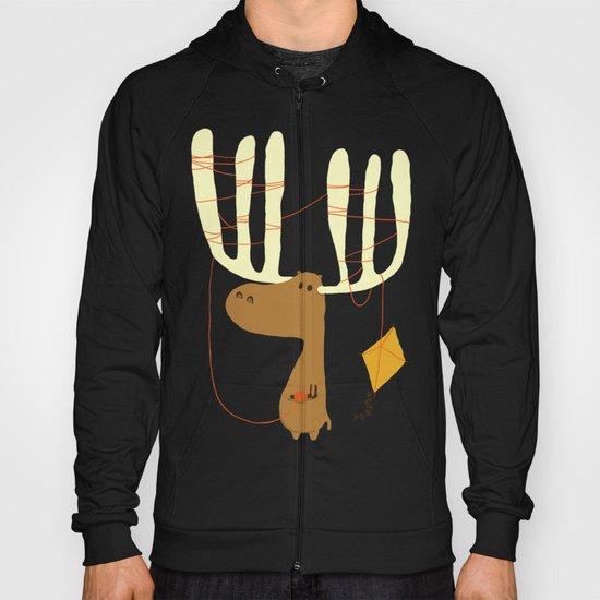 A moose ing Hoody