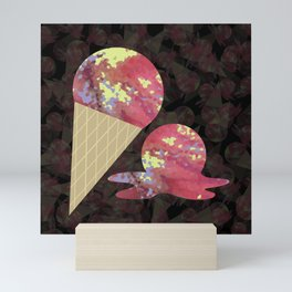 Three Second Rule; Save the Ice Cream Mini Art Print