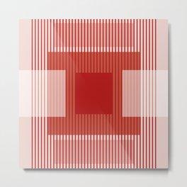 Dessin Lines & Rectangles III Metal Print