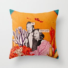 You are Far From Boring Throw Pillow