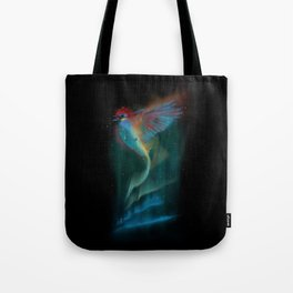 Aurora bird Tote Bag