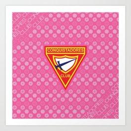 Conquistadores Club Art Print