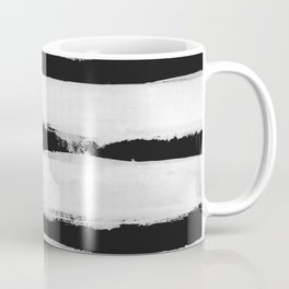 BW Stripes Coffee Mug