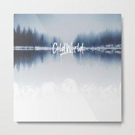 Cold Word Metal Print