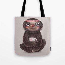 Sloth I♥lazy Tote Bag