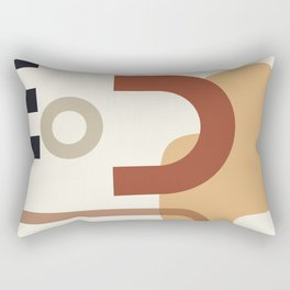 // Shape study #23 Rectangular Pillow