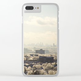 Ice Storm. Clear iPhone Case
