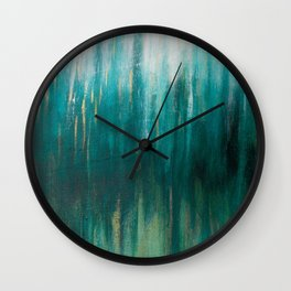 Pulse of the Sea Wall Clock
