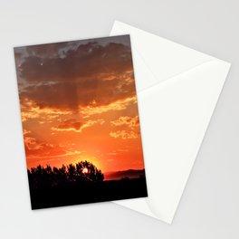 Idaho Sunset Stationery Cards