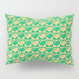 Herzen Liebes Collage Pillow Sham