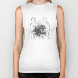 """VADA VADA"" The Garden Wyatt Shears Fletcher Shears Biker Tank"