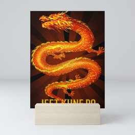 Jeet Kune Do - JKD, the Dragon Mini Art Print
