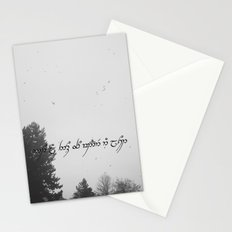 Not all those who wander are lost Stationery Cards