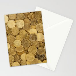 Gold Chain Stationery Cards