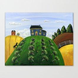 Hilly Heartland Canvas Print