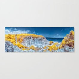 Cliff Panorama tropical Canvas Print
