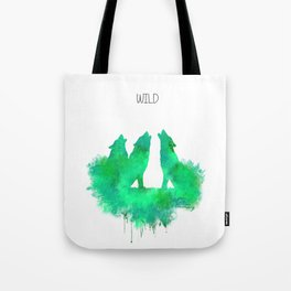 Wild wolves Tote Bag