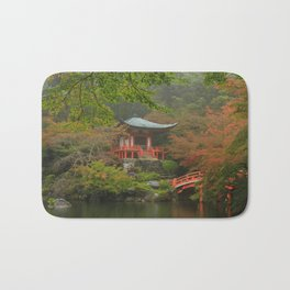 Hidden Japanese Temple Bath Mat