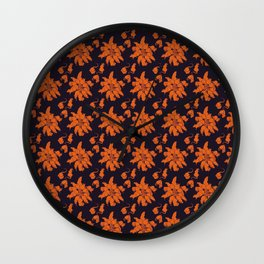 Ratking Flowers [Halloween] Wall Clock