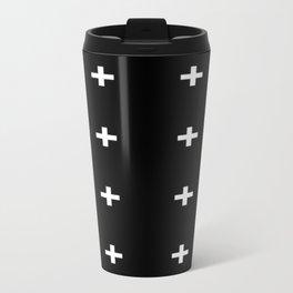 BLACK CROSSES Travel Mug