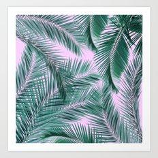 Musk and Palms Art Print