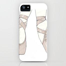 Ballet Pumps iPhone Case
