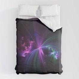 Fireworks Fractal Comforters
