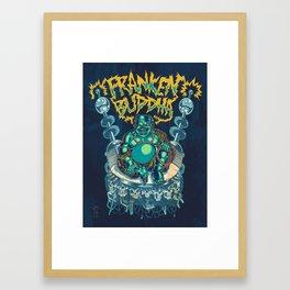 Franken-Buddha Framed Art Print