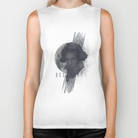 beethoven Biker Tanks featuring Beethoven by Josh Slee Design