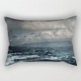 wild ocean Rectangular Pillow