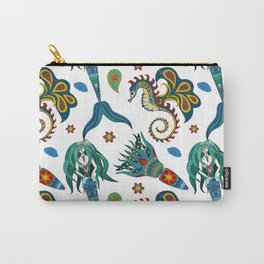 Mermaids Sea Carry-All Pouch