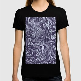 Ube Marbled Paint T-shirt