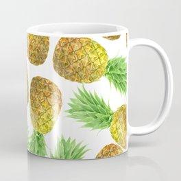 Pineapple watercolor pattern Coffee Mug