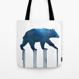 indigo bear Tote Bag